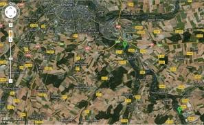 Descente de l Avre Castel - Boves 000
