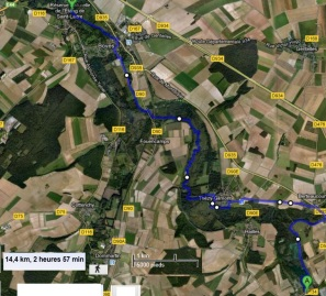 Descente de l Avre Castel - Boves 000BIS