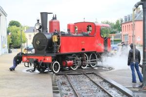le changement de locomotive à Noyelles