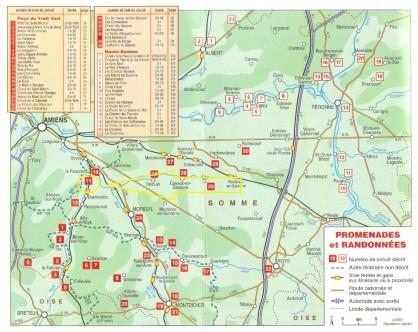 00_Topo-guide La Somme - Le Pays du Trait Vert - La Haute SommeCARTEGENERALE