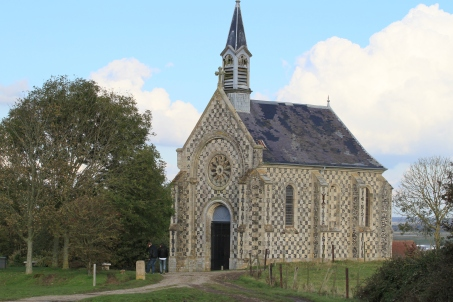 L'église de Saint Valéry