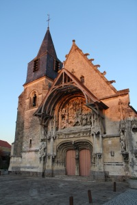 Eglise Notre dame de la Neuville de Corbie XVe siècle